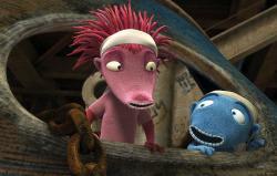 Kadr z filmu Niedoparki